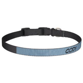 Cuello de perro grande del modelo azul collar para perro