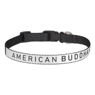 Cuello de perro original de Buda Co. del americano Collar Para Mascotas