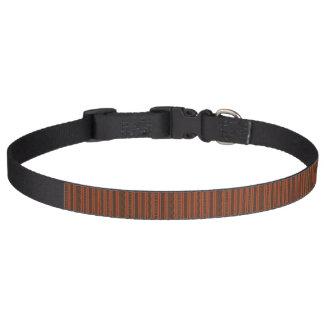 Cuello de perro rojo y marrón - rojo de Angola Collar Para Mascotas