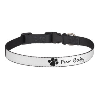 Cuello del mascota del diseño del bebé de la piel collares para perros