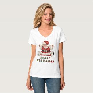 Cuello en v nano de Hanes de las mujeres del Camiseta