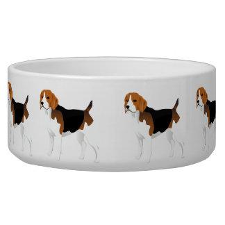 Cuenco con el beagle