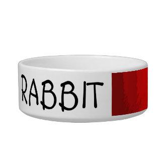 cuenco de alimentación del conejo adaptable del ar comedero para mascota