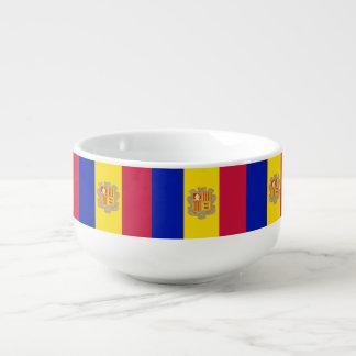 Cuenco De Sopa Bandera de Andorra
