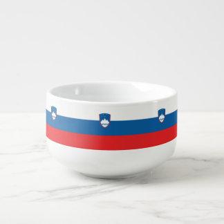 Cuenco De Sopa Bandera de Eslovenia