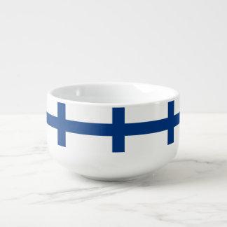 Cuenco De Sopa Bandera de Finlandia
