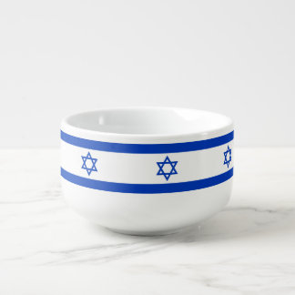 Cuenco De Sopa Bandera de Israel