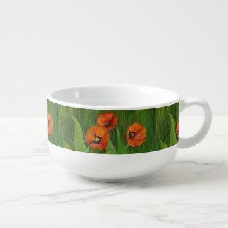 Cuenco De Sopa Flores locales