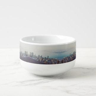 Cuenco De Sopa Hong Kong desde arriba del modelo