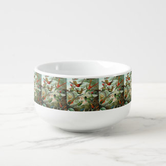 Cuenco De Sopa Impresión del arte de Ernst Haeckel: Trochilidae