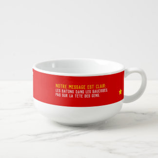 Cuenco De Sopa Todo iguales pero no todos pogos descongelados