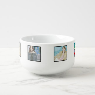 Cuenco para sopa de encargo personalizado 6-Photo