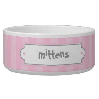 Cuencos rosados del mascota del modelo de las comedero para mascota
