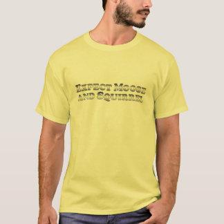 Cuente con los alces y la ardilla - básicos camiseta