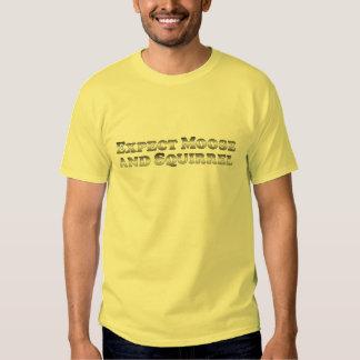 Cuente con los alces y la ardilla - básicos camisetas