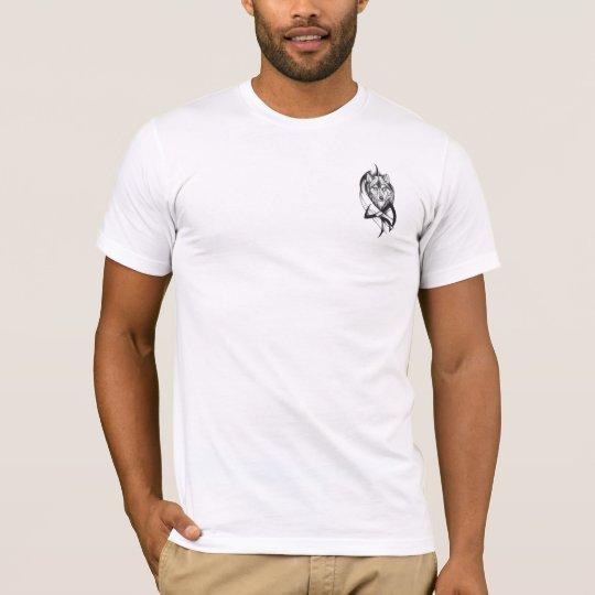 Cuento de dos lobos camiseta