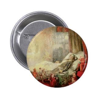 Cuento de hadas del vintage, materia de la cual chapa redonda 5 cm