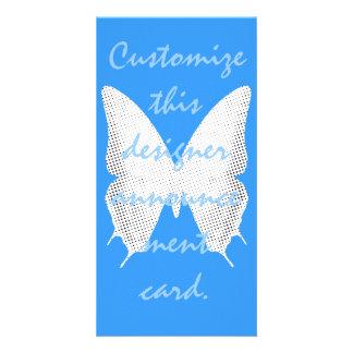 Cuento de la mariposa del cordón tarjetas con fotos personalizadas