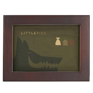 Cuentos de hadas minimalistas el | los 3 pequeños caja de recuerdos
