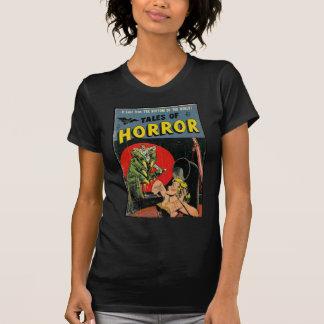 Cuentos del horror cómicos camiseta