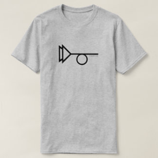 CUERNO 2 DE TRYSTERO MUTTED CAMISETA