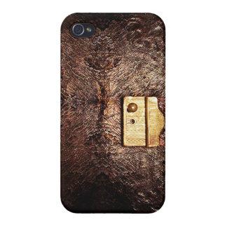 Cuero del vintage iPhone 4/4S carcasa