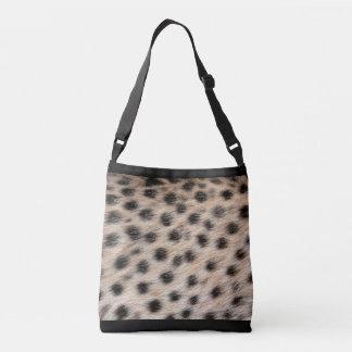 Cuerpo cruzado del guepardo por todo bolso