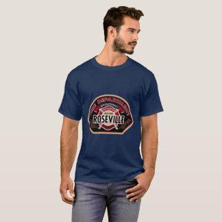Cuerpo de bomberos de Roseville Cali Camiseta
