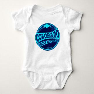 Cuerpo del bebé de la tinta azul del trullo de las body para bebé