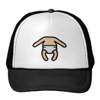 Cuerpo del bebé gorras