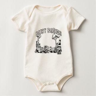 Cuerpos ocupados bodi de bebé