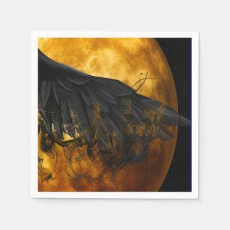 cuervo de la luna servilletas desechables