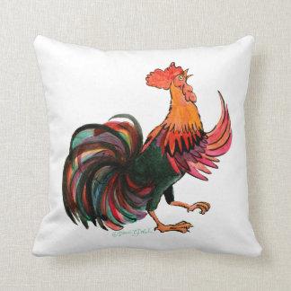 Cuervos del gallo cojín decorativo