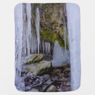 Cueva del hielo mantita para bebé