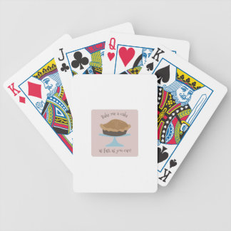Cuézame una torta cartas de juego