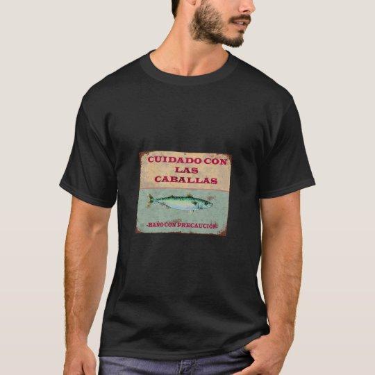 Cuidado con las Caballas: Camiseta Vintage