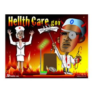 Cuidado de Hellth del diablo Postal