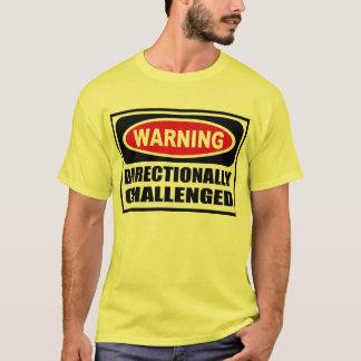Cuidado de la camiseta de los hombres DIRECCIONAL