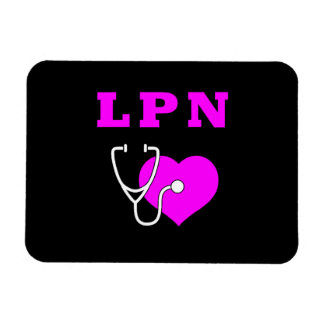 Cuidado de LPN Imán Rectangular