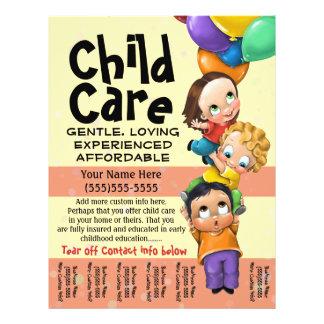 Cuidado de niños. El cuid losar nin¢os. Cuidado Folleto 21,6 X 28 Cm