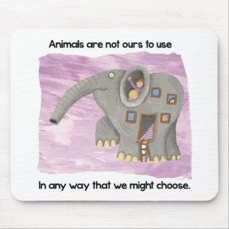 ¡Cuidado sobre animales! Alfombrilla De Ratón