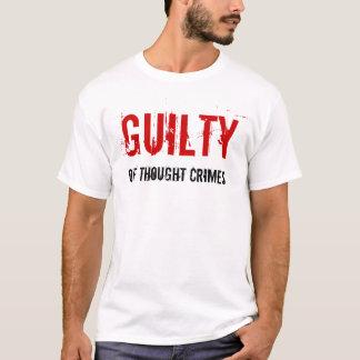 Culpable de la camisa de los crímenes del