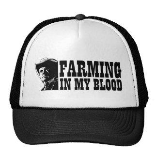 Cultivando en mi sangre el regalo para un granjer gorro de camionero