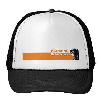 Cultivando en mi sangre el regalo para un granjer gorras de camionero