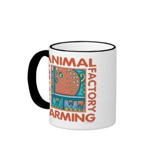 Cultivo de la fábrica taza de café