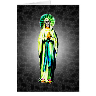 Culto de Santa Muerte Tarjeta Pequeña