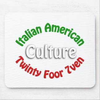 Cultura americana italiana alfombrillas de raton