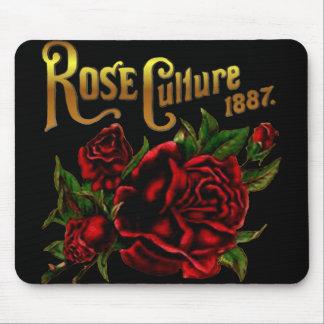 Cultura color de rosa 1887 alfombrilla de ratón