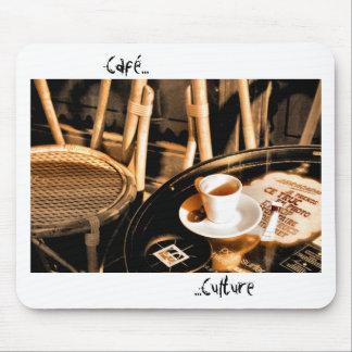 Cultura de Café Alfombrilla De Ratón