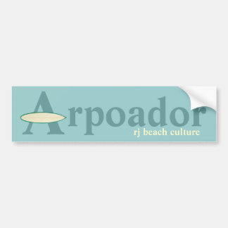 Cultura de la playa de Arpoador RJ Pegatina Para Coche